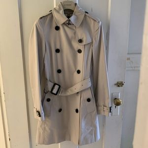 BURBERRY Prorsum Buckingham Trench Coat UK4 Honey